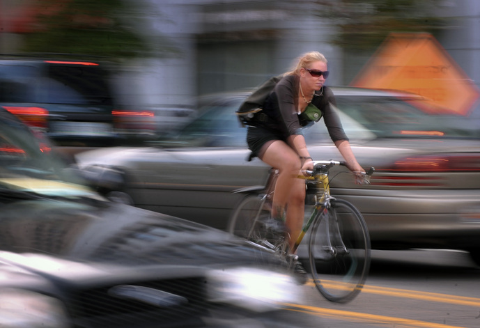 Bicycle riders in Pennsylvania should learn their tort options on their car insurance.