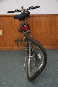 Joseph Chaffee violently struck the rear of Joseph Schrom's bicycle on Sept. 23, 2010, causing serious injuries to Schrom.
