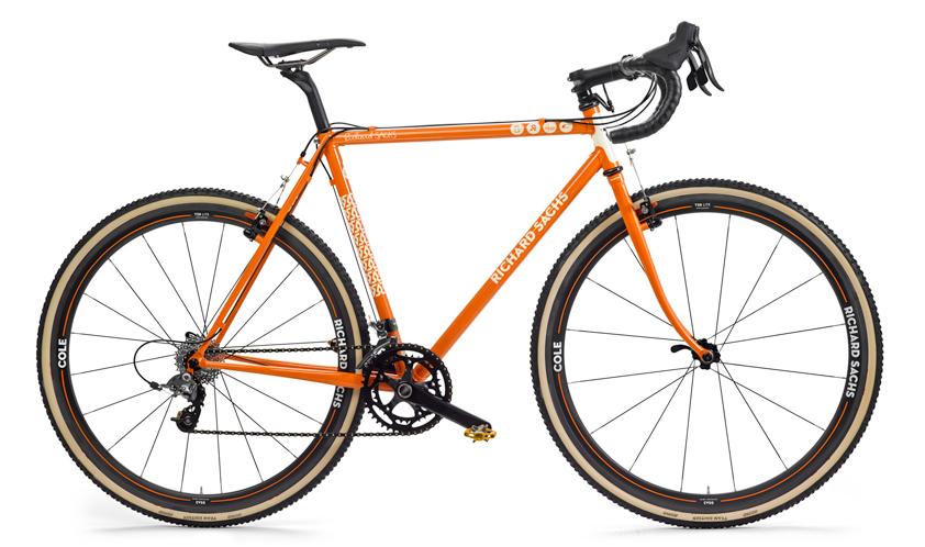 Steel is Real!  Danny T's Richard Sachs CX Bike