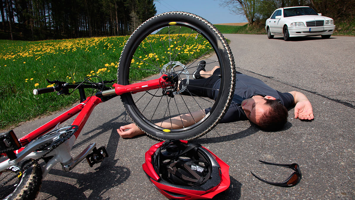 Injured Bicyclist