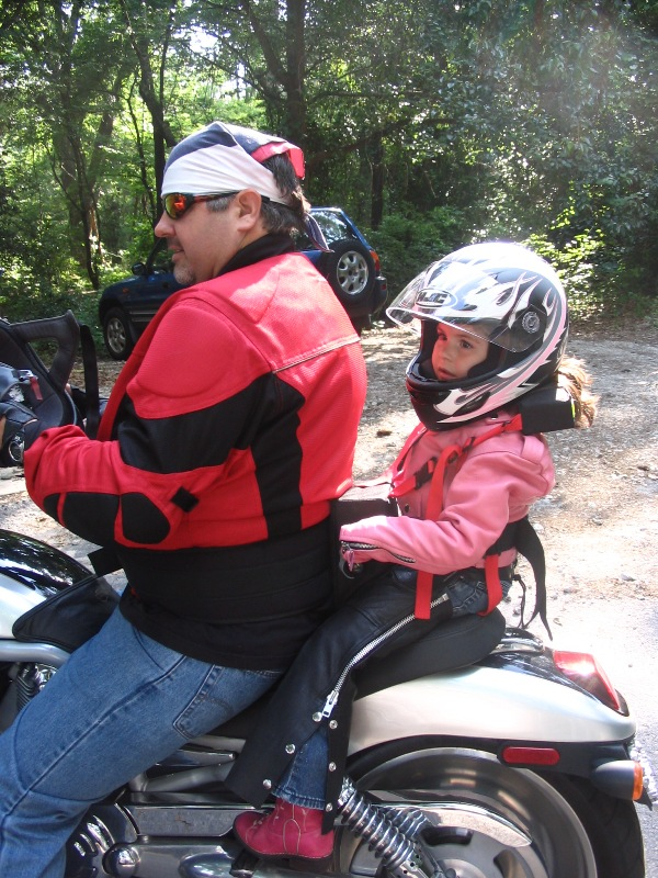 Safety Must Come First With Child Motorcycle Passengers