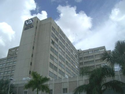 The Miami VA Medical Center.