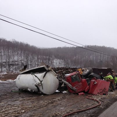 PA fatal truck crash
