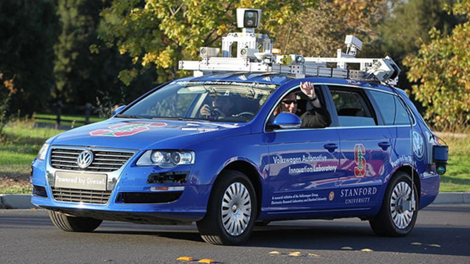 When a driverless car has an accident, who's liable? Stay tuned ....