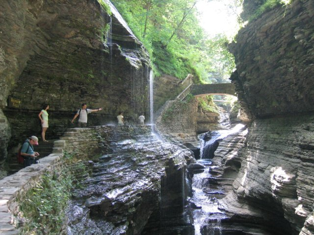 Get a lifetime pass to visit Watkins Glen State Park and other New York State parks. Photo: Finger Lakes Wine Country.